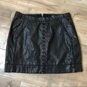 Faux  leather BlankNYC skirt